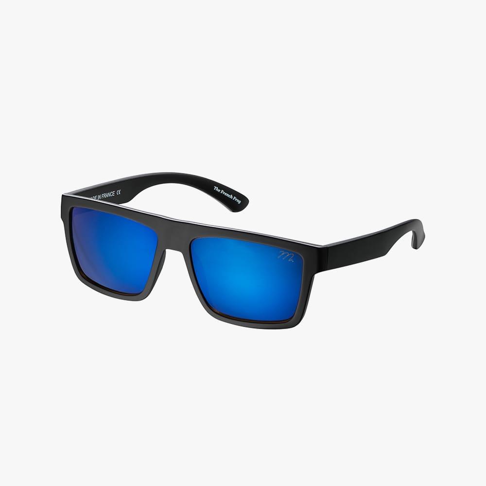 Milf-french-frog-mat-black-blue